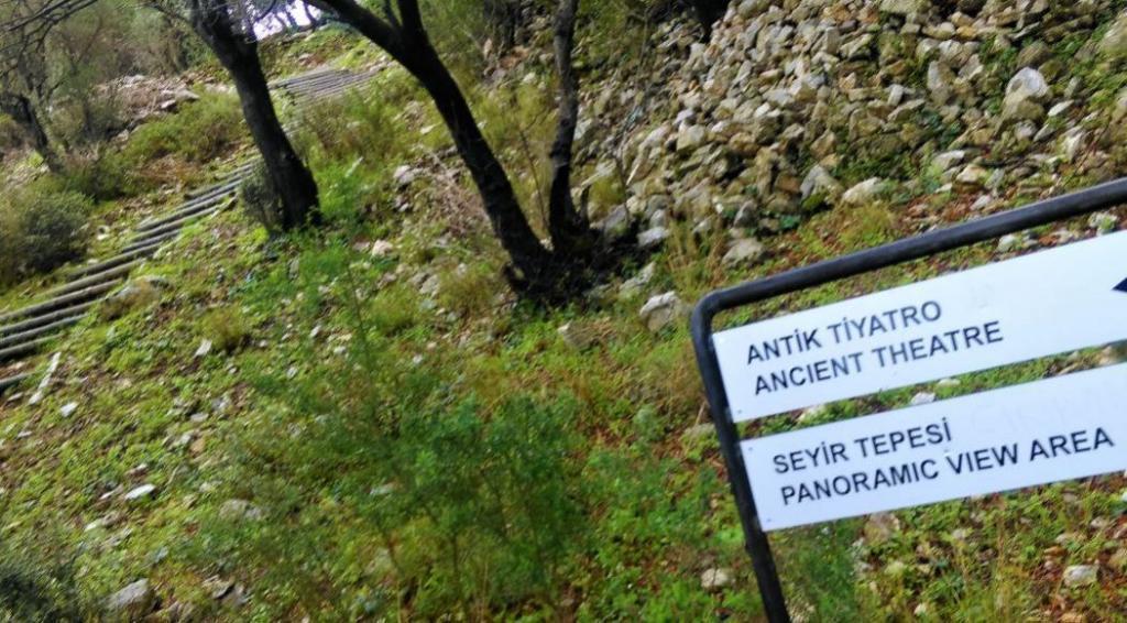 Amos Antik Kenti, Marmaris Gezilecek Yerler