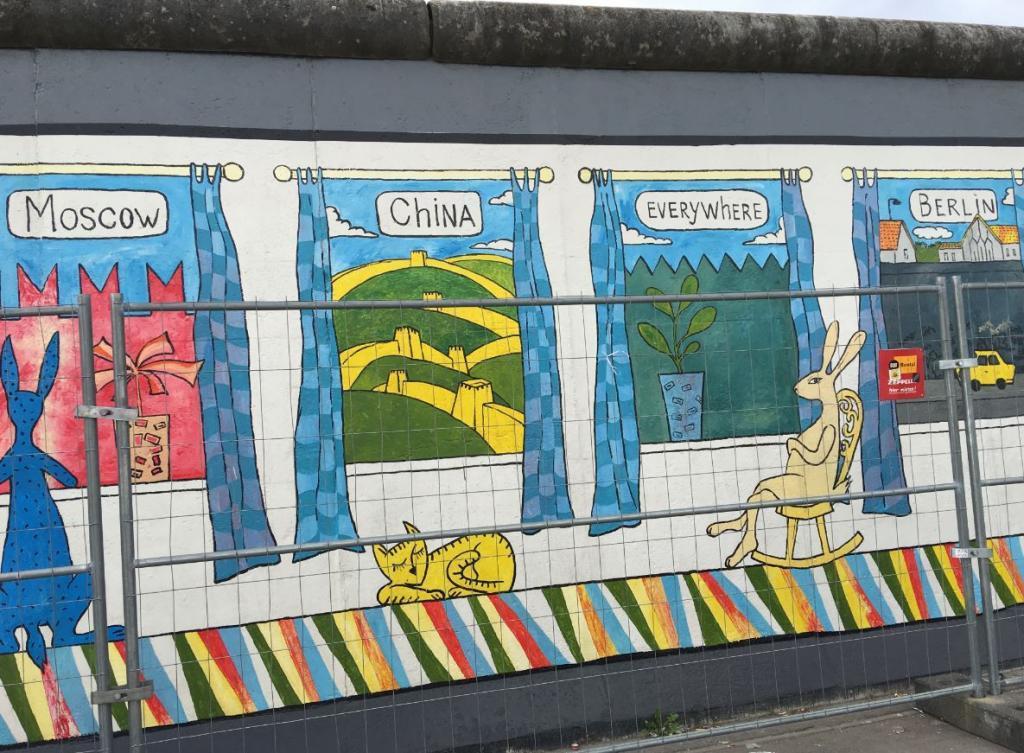 Berlin Duvarı - Berlin Gezilecek Yerler