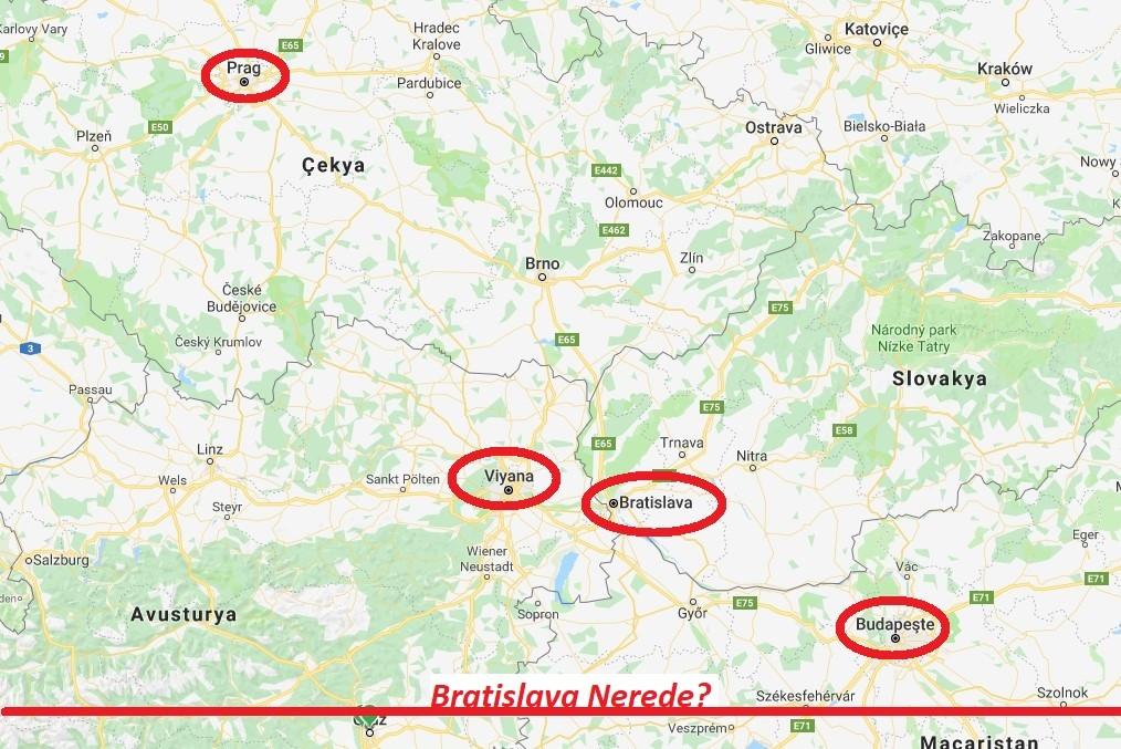 Bratislava Nerede