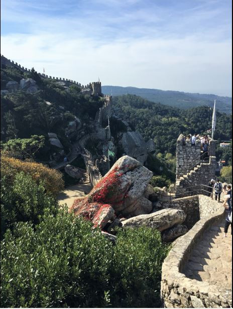 Castelo Dos Mouros (Castle Moorish) - Mağribi Kalesi - Sintra- Lizbon Gezi Rehberi