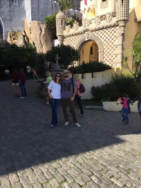Parque e Palacio Nacional da Pena (Pena Sarayı) ve biz - Sintra- Lizbon Gezi Rehberi