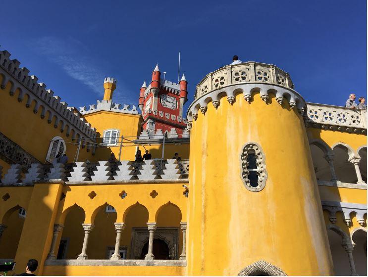 Parque e Palacio Nacional da Pena (Pena Sarayı) - Sintra- Lizbon Gezi Rehberi