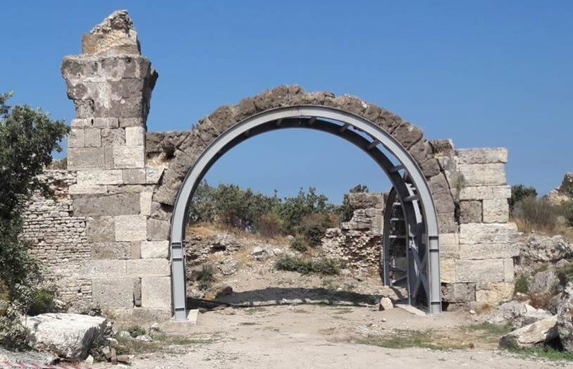Herodes Attikus Hamamı-Alexandria Troas