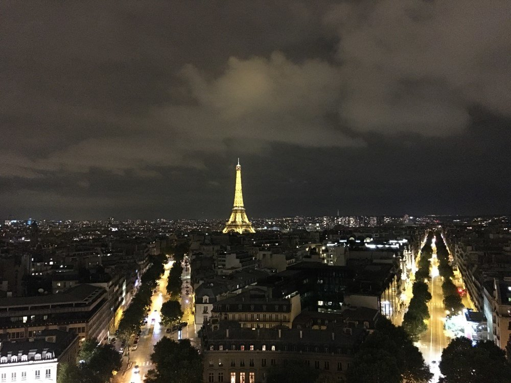 Arc De Triomphe - Eiffel Tower