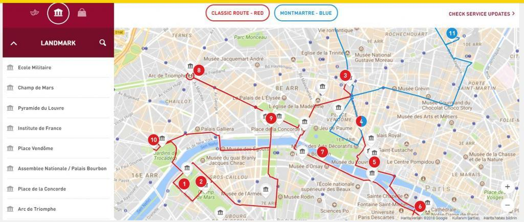 Paris Şehir Planı