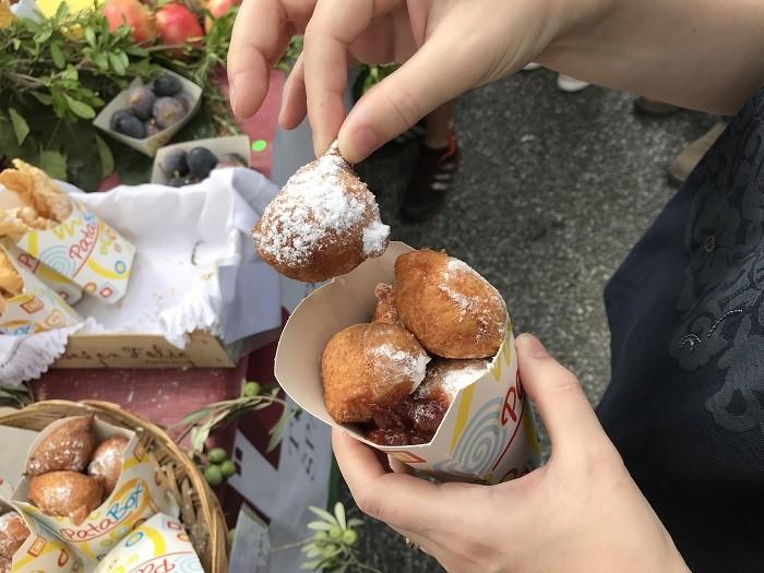 Graz Aufsteirern sokak lezzetleri