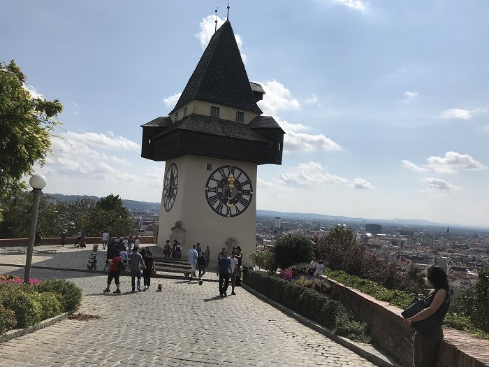 Graz Schlossberg Saat Kulesi