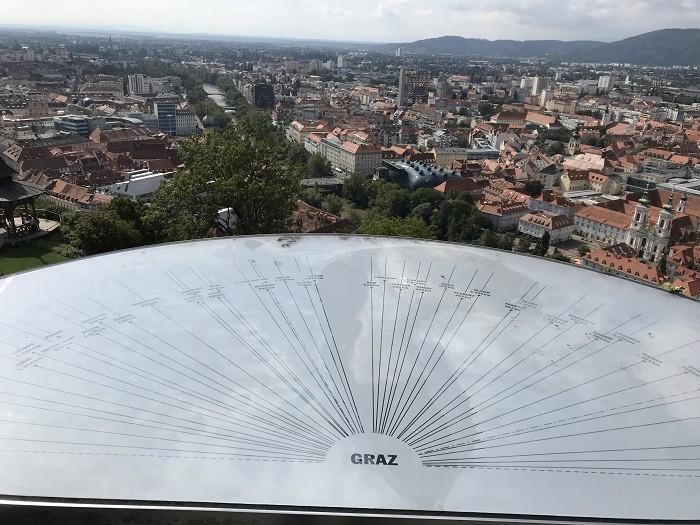 Graz Schlossberg Tepesi