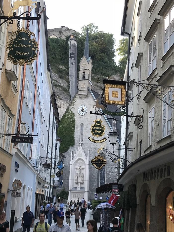 Getreidegasse Salzburg - Salzburg Gezi REhberi