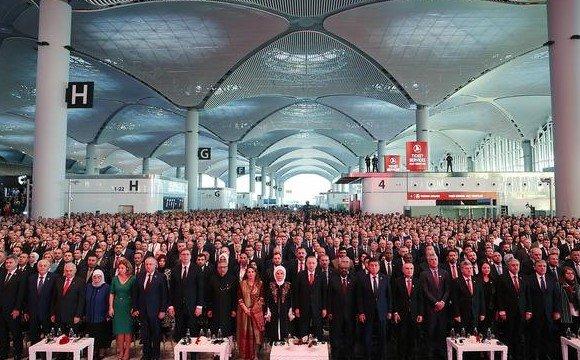 İstanbul Havalimanı açılış