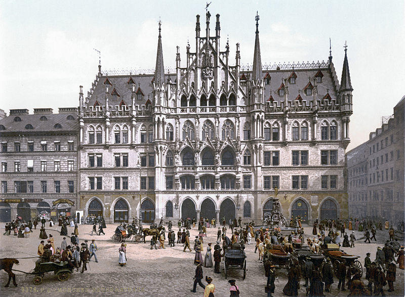 Marienplatz - Münih Gezi Rehberi - 1900