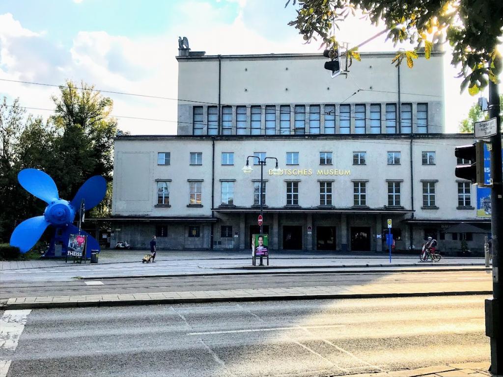 Deutsches Museum - Münih Gezilecek Yerler