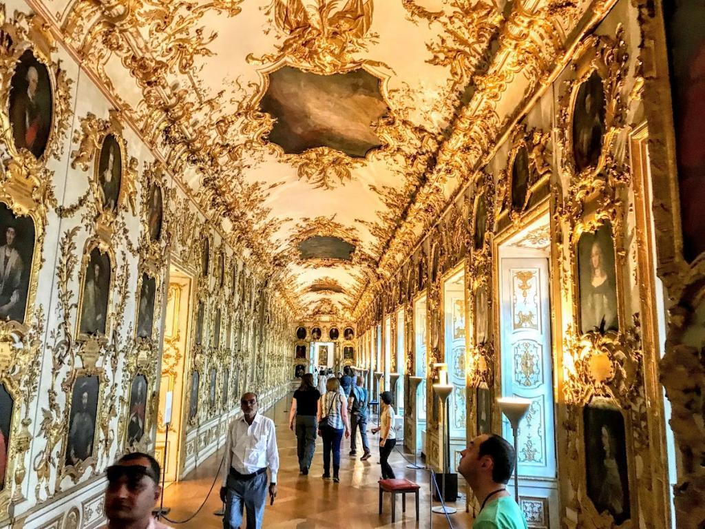 Münih Residenz Galeri Salonu- Münih Gezilecek Yerler