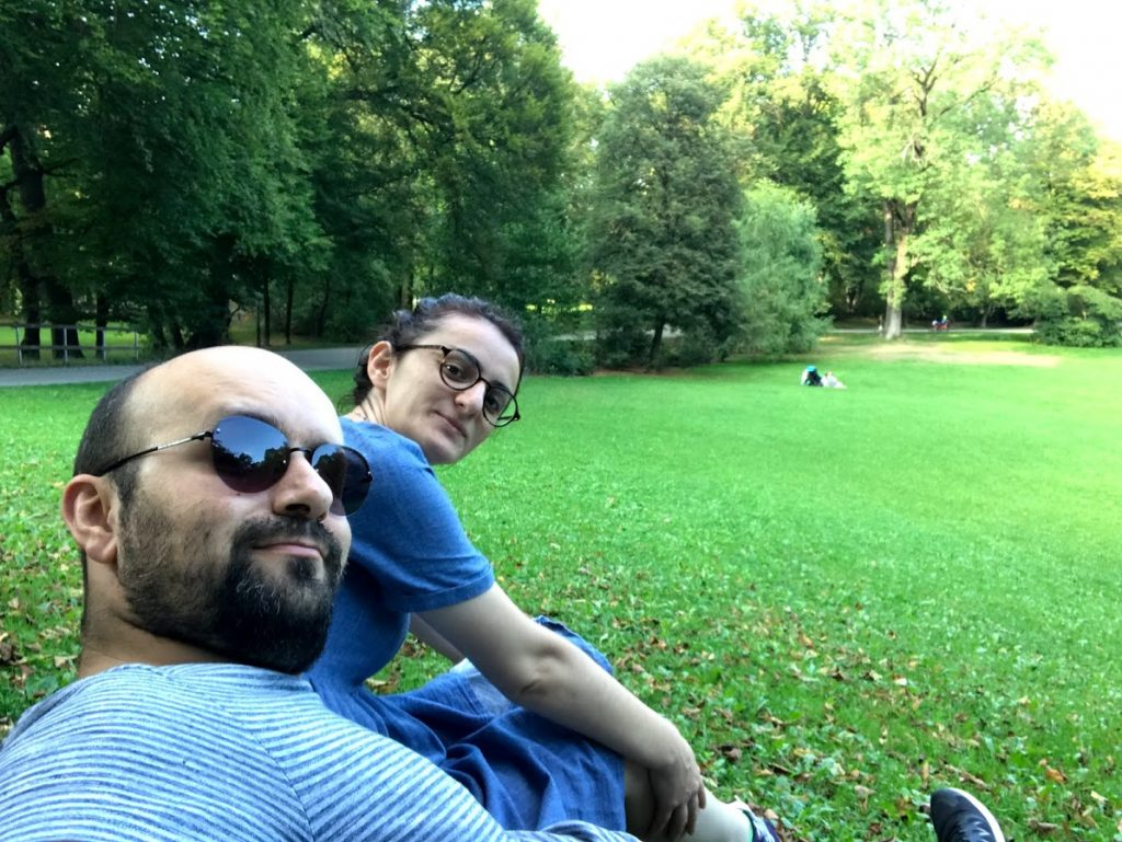 Maximilian Üniversitesi Park- Münih Gezilecek Yerler