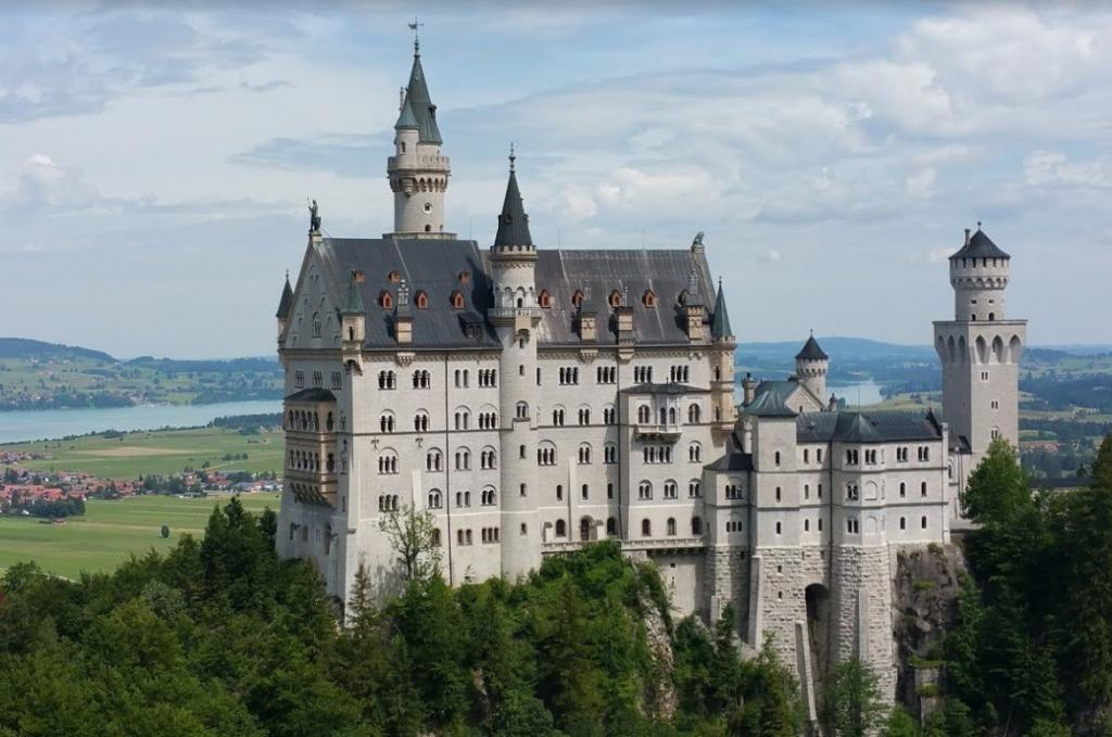 Neuschwanstein - Münih Gezilecek Yerler