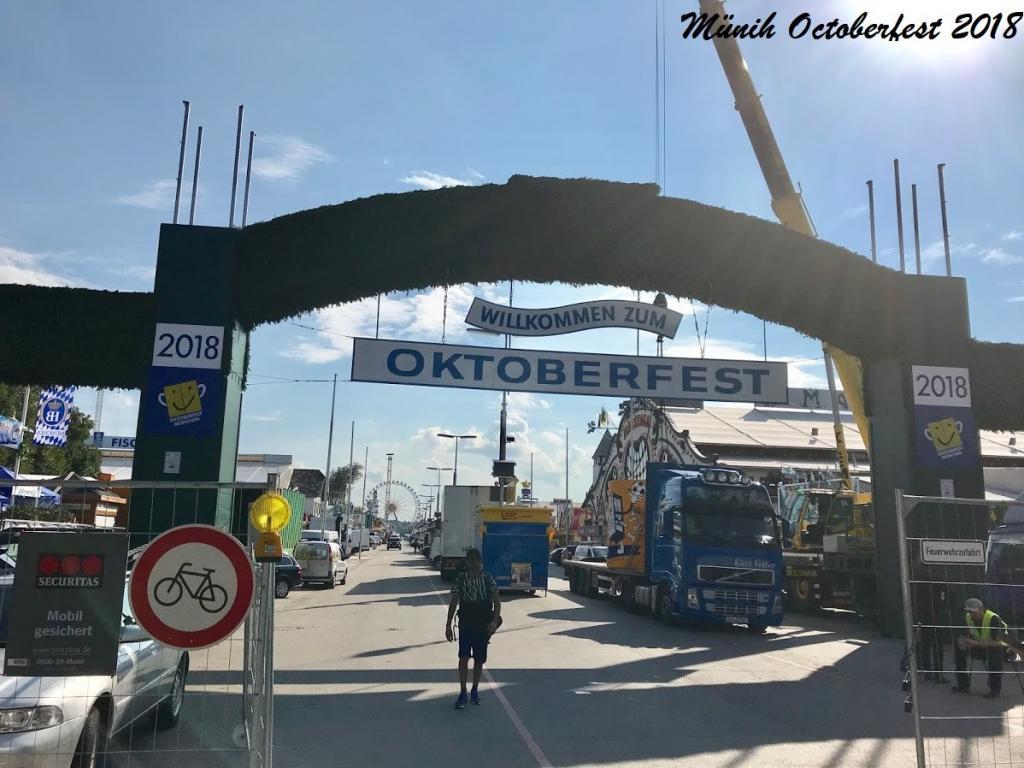Oktoberfest - Münih Gezilecek Yerler