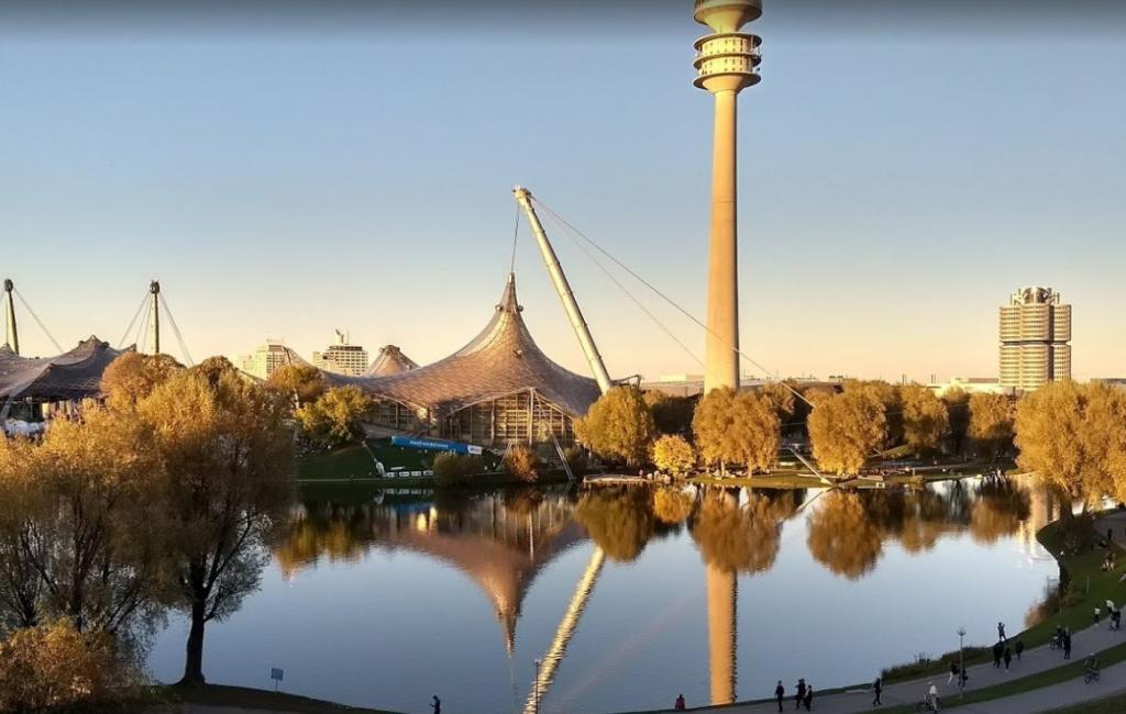 Olympiapark - Münih Gezilecek Yerler