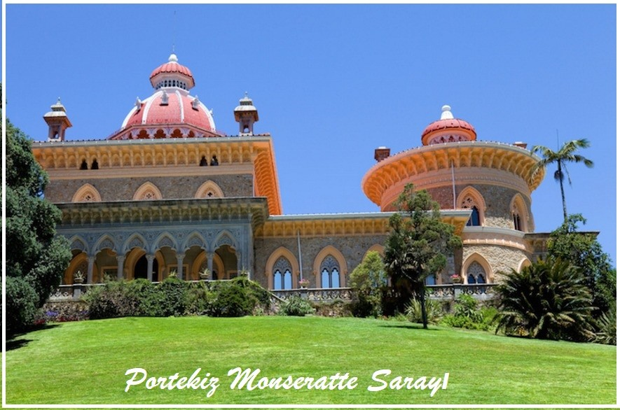 Sintra Portekiz Monseratte Sarayı - Lizbon Gezilecek Yerler