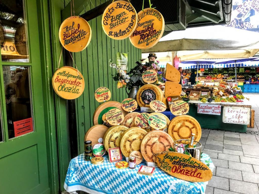 Viktualienmarkt - Münih Gezilecek Yerler