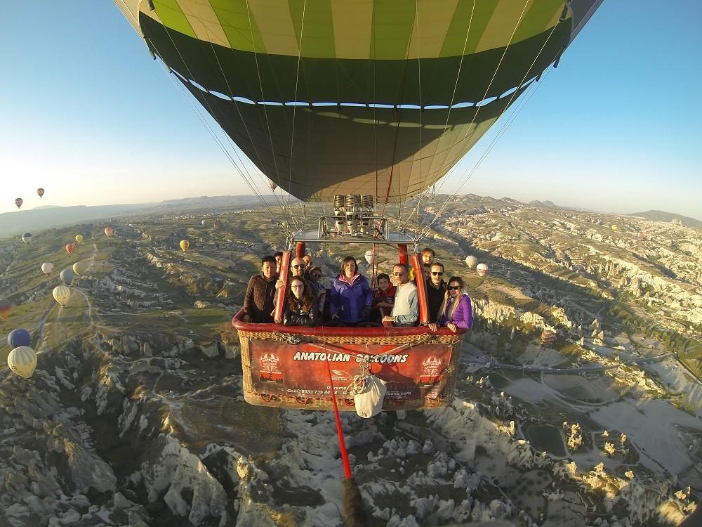 balon kamerası-kapadokya balon turu