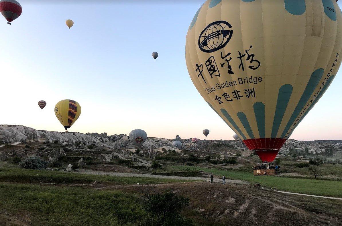 kapadokya balon turu - Balon rehberi
